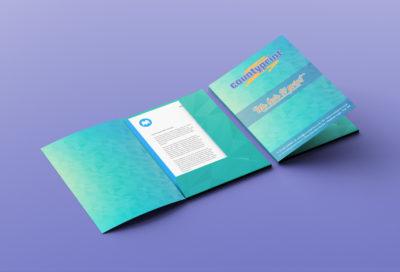 Interlocking Presentation Folder